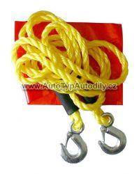 Tažné lano s háky 3000kg : 01232