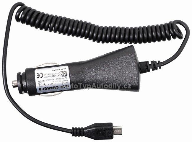 www.autotypautodily.cz Nabíječka telefonu 12/24V MICRO USB COMPASS