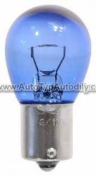 Žárovka 12V P21W 21W Ba15s BLUE