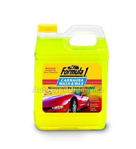 Autošampon+palmový vosk Carnauba 946ml FORMULA 1 GOLD EAGLE USA