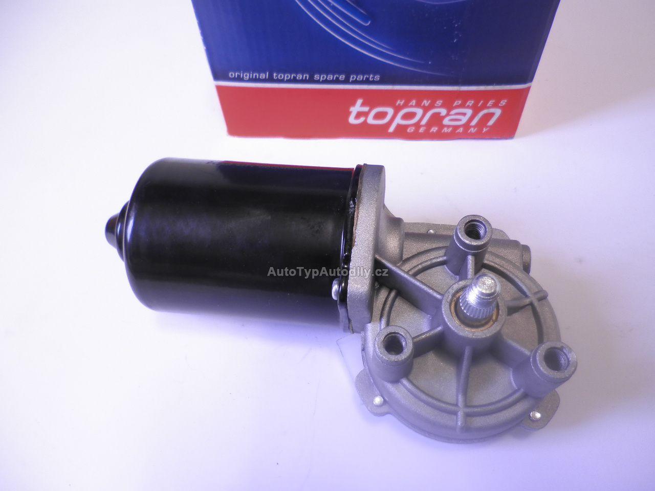 www.autotypautodily.cz Motorek stěrače Škoda Octavia do 2000 přední TOPRAN: 1J1 955 113C TOPRAN - DE
