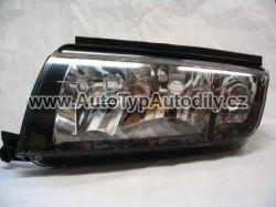 Světlo přední Škoda Fabia levé černý okraj DIAMOND CN : 6Y1-941015P