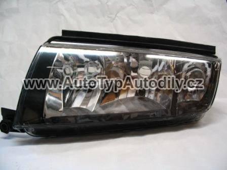 Světlo přední Škoda Fabia levé černý okraj DIAMOND CN : 6Y1-941015P DPA-CN