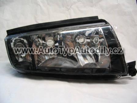 www.autotypautodily.cz Světlo přední Škoda Fabia pravé černý okraj DIAMOND CN : 6Y1941016P