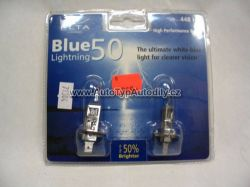12V  H1 55W modrá pár + 50%