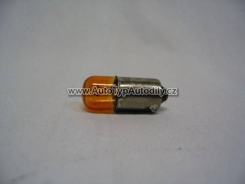 Žárovka 12V 4W Ba9s oranžová : 233A