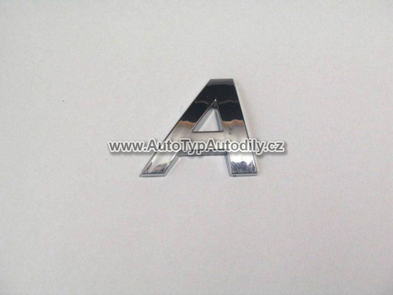 Znak písmeno A