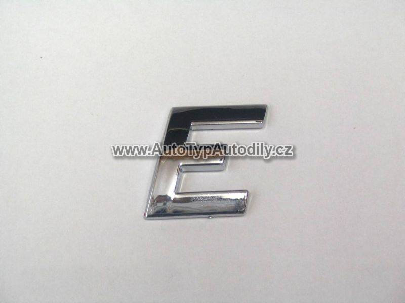 www.autotypautodily.cz Znak písmeno E