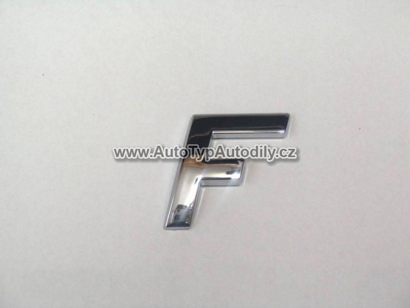 www.autotypautodily.cz Znak písmeno F