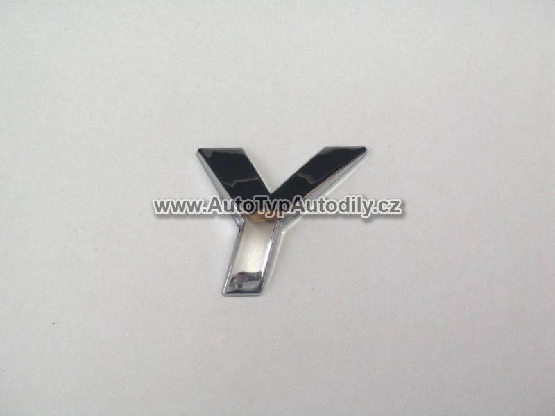 Znak písmeno Y