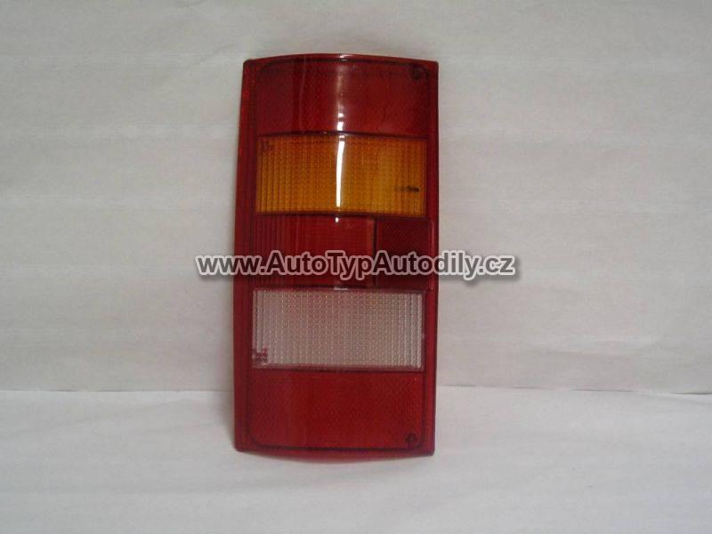 Sklo - kryt zadního světla Škoda Favorit Pick-up pravé : 116924260 CN