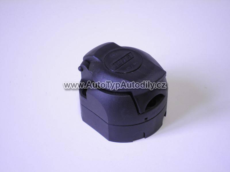 Zásuvka tažného zařízení 7-pólová plastová 0V011101 DUNAJ